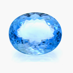 36,39 ct Swiss Blue Topaz...