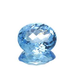 25.29 ct Blue Topaz Oval...
