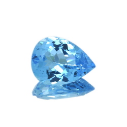 17.33 ct Blue Topaz Pear Cut