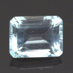 2.42ct Aquamarine Emerald Cut