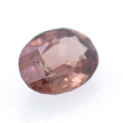 1.28ct Pink Zircon Oval Cut