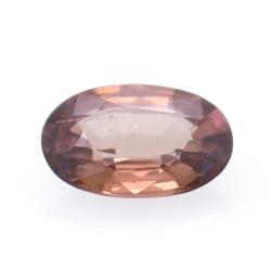 1.32ct Pink Zircon Oval Cut