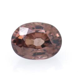 1.30ct Pink Zircon Oval Cut