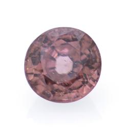 1.33ct Pink Zircon Round Cut