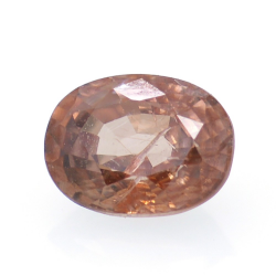 1.46ct Pink Zircon Oval Cut
