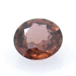 1.47ct Pink Zircon Round Cut