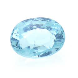 1.33ct Blue Apatite Oval Cut