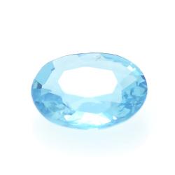 1.30ct Blue Apatite Oval Cut