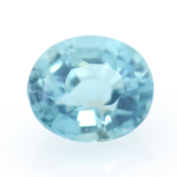 1.28ct Blue Apatite Oval Cut