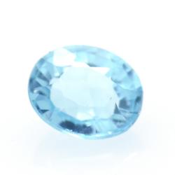 1.31ct Blue Apatite Oval Cut