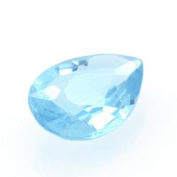 1.19ct Blue Apatite Pear Cut