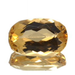 1.49ct Imperial Topaz Oval Cut