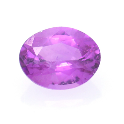 0.38ct Pink Sapphire Oval Cut