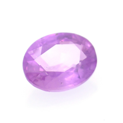 0.65ct Pink Sapphire Oval Cut