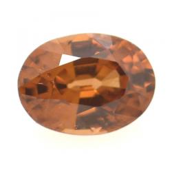 1.01ct Pink Zircon Oval Cut