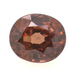 1.08ct Pink Zircon Oval Cut