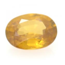 1.23ct Yellow Zircon Oval Cut