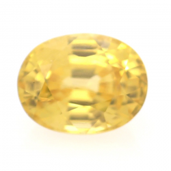 1.19ct Yellow Zircon Oval Cut