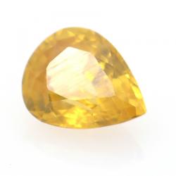 1.05ct Yellow Zircon Pear Cut