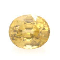 1.15ct Yellow Zircon Oval Cut