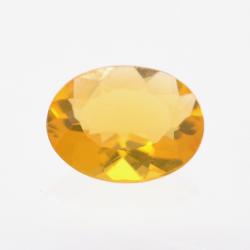 0.84ct Fire Opal Oval Cut