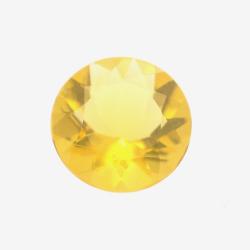 0.92ct Fire Opal Round Cut