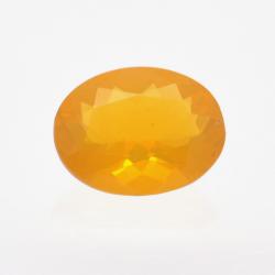 1.00ct Fire Opal Oval Cut