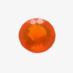 0.76ct Fire Opal Round Cut