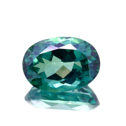 7.85ct Green Topaz Oval Cut