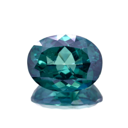 16.26ct Green Topaz Oval Cut