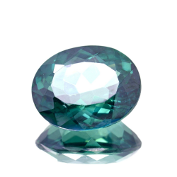 14.22ct Green Topaz Oval Cut