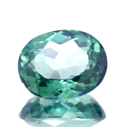 9.28ct Green Topaz Oval Cut