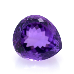 26.62ct Amethyst Pear Cut