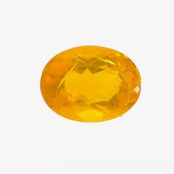 1.01ct Fire Opal Oval Cut