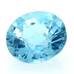 1.10ct Neon Blue Apatite...