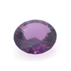 0.96ct Purple Spinel Round Cut