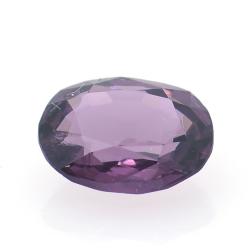 1.14ct Purple Spinel Oval Cut