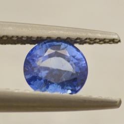 0.99ct Round Sapphire