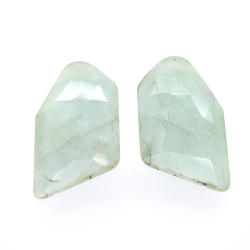 25.84ct Set Emerald Fancy...