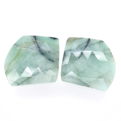35.26ct Set Emerald Fancy...