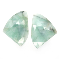 23.88ct Set Emerald Fancy...