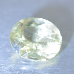 2.29ct Diaspore Oval Cut