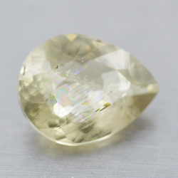 2.81ct Diaspore Pear Cut