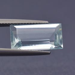 4.95 ct Rectangular Aquamarine
